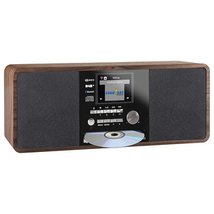 "Imperial Dabman i200 CD [Holzoptik] - 2,8"" (7,2 cm) TFT-Farbdisplay, DAB+ Radio mit CD-Player, Stereo, UKW, WLAN, Aux In, Line"