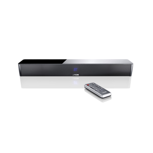 Canton DM 5 (schwarz) - 2.1 Virtual Surround System (120 Watt, Bluetooth 3.0 (apt-X), Digitaleingang)