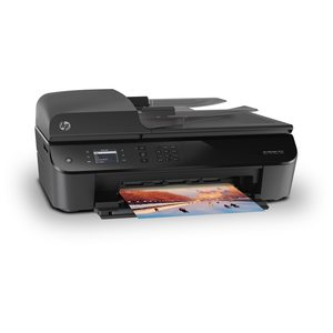 HEWLETT PACKARD Officejet 4632 e-All-in-One, All-in-One Wireless LAN Drucker, Drucken, Kopieren, Scannen & Faxen, 5 cm Monodisplay, USB 2.0