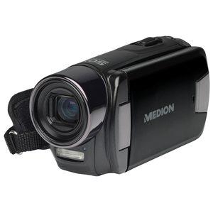 "MEDION LIFE® X47030 Digitaler Full HD Camcorder, 7,62 cm (3"") Display, 5.0 Megapixel CMOS Sensor, 10-fach digitaler Zoom, 5-fach optischer Zoom"