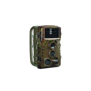 MEDION Wildkamera S49014, getarntes Gehäuse, 5 Megapixel, Spritzwassergeschützt, Bewegungsmelder, 2,4 Farbdisplay (B-Ware)