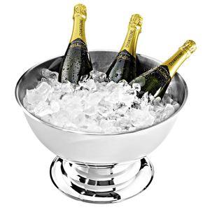 Import Champagner Bowl Edelstahl 14/1 Ø 40 cm