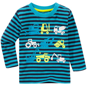 Baby Sweatshirt in Ringel-Look