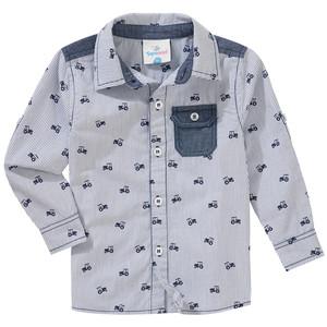 Baby Hemd mit Allover-Print