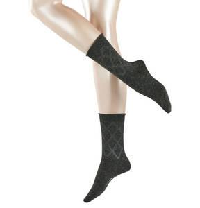 "FALKE             Socken ""Flannel"", Rautenmusterung"