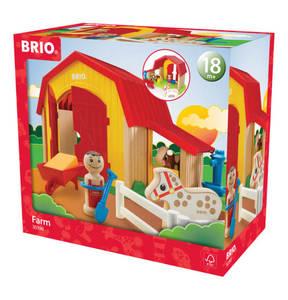 """BRIO             Spielfiguren """"Mein großer Bauernhof 30398"""""""