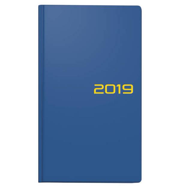 BRUNNEN             Taschenkalender 9x15cm 2S/1W blau                 (2 Stück)