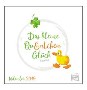 DUMONT             Das kleine QuEntchen Glück 2019 – Wandkalender
