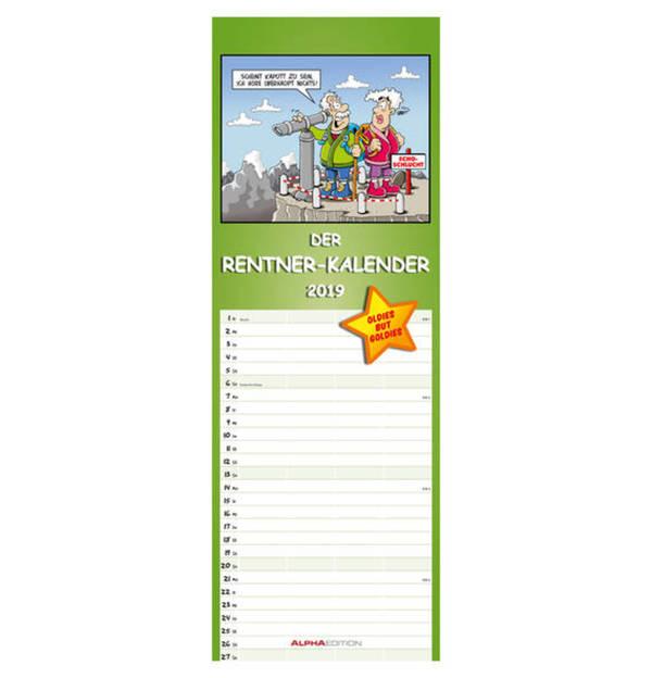 ALPHA EDITION             Rentnerkalender