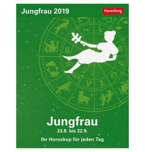 Harenberg             Jungfrau Sternzeichenkalender