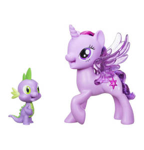 "Hasbro                My Little Pony                 Fantasyfiguren ""Sparkle und Spike"""