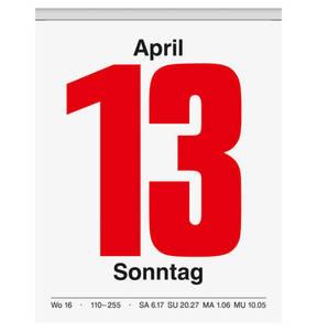 BRUNNEN             Tagesabreißkalender Nr. 13