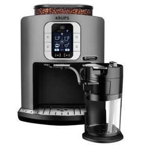 "Krups             Vollautomat ""Latte Smart Connected Silber EA860E"""