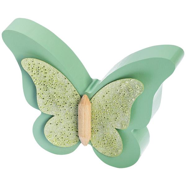 Deko-Schmetterling mit Glitzerdetails