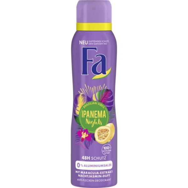 Fa Deodorant Spray Ipanema Nights 0.90 EUR/100 ml