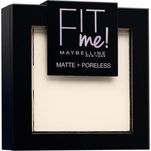 Maybelline Fit Me Matte & Poreless Puder 100 Warm Ivory