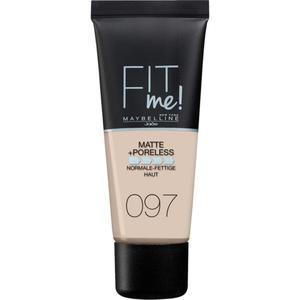 Maybelline Fit Me Matte & Poreless Make Up 97 Natural P 5.56 EUR/30 ml