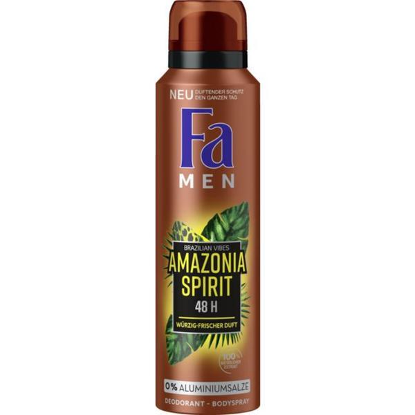 Fa Deodorant-Bodyspray Amazonia Spirit 0.90 EUR/100 ml