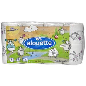 alouette Toilettenpapier mit Frühlingsduft