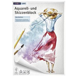 IDEENWELT Aquarell- und Skizzenblock