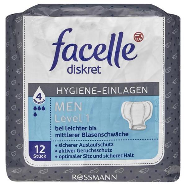 facelle Hygiene-Einlagen MEN Level 1