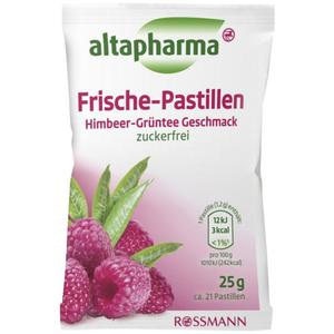 altapharma Frische-Pastillen Himbeer-Grüntee Geschmack 2.76 EUR/100 g