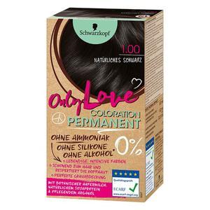 Schwarzkopf Only Love Coloration Permanent Farbe 100 natürliches Schwa EUR/