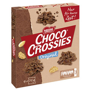 Choco Crossies XXL jede 300-g-Packung
