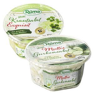 Rüma Mutti's Gurkensalat oder Krautsalat Exquisit jeder 400-g-Becher