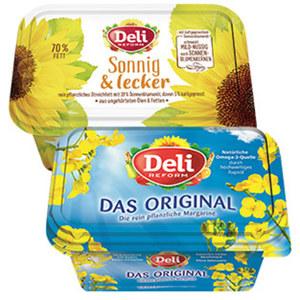 Deli Reform Margarine versch. Sorten, jede 500-g-Packung