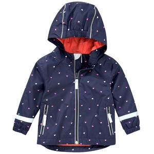 Baby  Regenjacke mit Herz-Allover