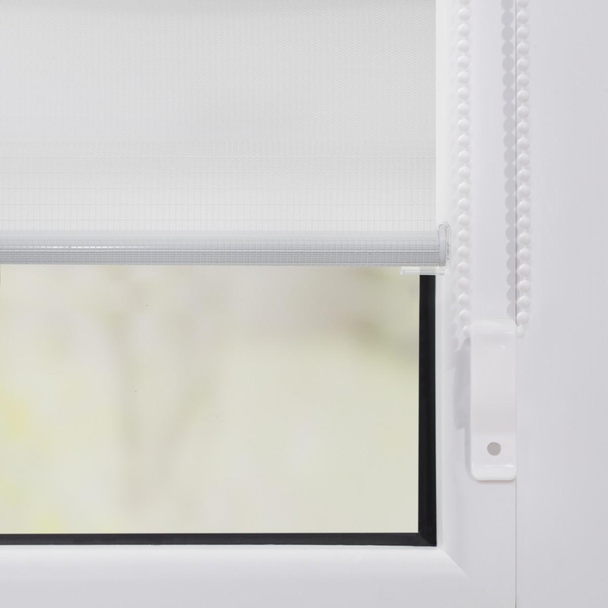 Bild 4 von Lichtblick Duo-Rollo Klemmfix, ohne Bohren - Weiß, 85 cm x 150 cm (B x L)