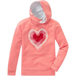 Mädchen Sweatshirt mit Paillettenherz
