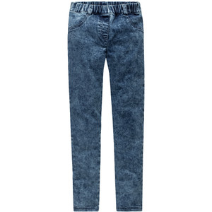 Mädchen Jeggings im Moon-Washed-Look