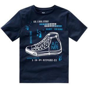 Jungen T-Shirt mit Sneaker-Print