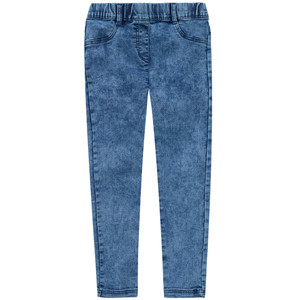 Mädchen Exxtra Size Jeggings mit Moon-Washed