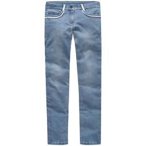 Mädchen Exxtra Size Skinny-Jeans mit Spitze