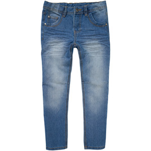 Jungen Exxtra Size Jeans mit Used-Waschung