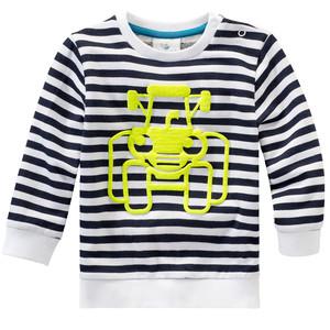 Baby Sweatshirt mit 3D-Traktor-Motiv