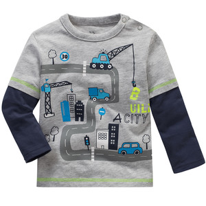 Baby Langarmshirt im Layer-Look