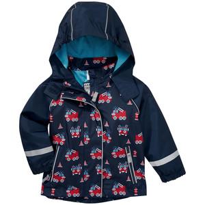Baby Regenjacke mit Feuerwehr-Allover