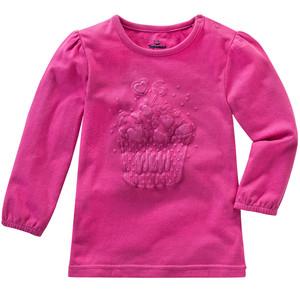 Baby Langarmshirt mit Glitzer-Aufdruck