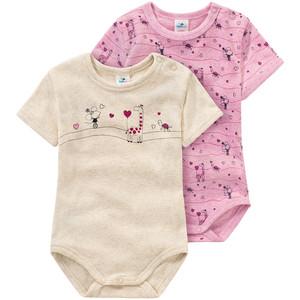 2 Baby Bodys in verschiedenen Designs