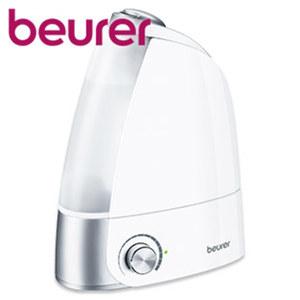 Luftbefeuchter LB 44 • für Räume bis 25 m² • stufenlos regulierbar • herausnehmbarer 2,8-Liter-Wassertank • Abschaltautomatik • Maße: H 34 x B 12 x T 25 cm