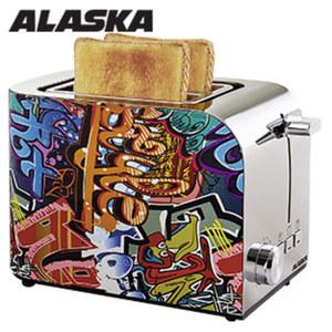 Toaster TA 2219 SP • elektron. Röstgradkontrolle • autom. Brotzentrierung • abnehmbarer Brötchenröstaufsatz