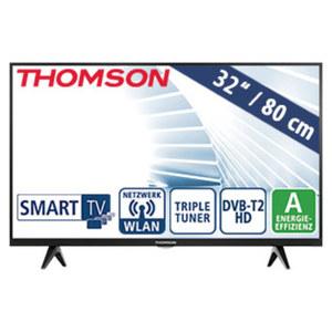 "32""-LED-HD-TV 32HD5506 • Auflösung 1.366 x 768 Pixel • HbbTV • 2 HDMI-Eingänge, USB-/CI+-Anschlüsse • Stand-by: 0,25 Watt, Betrieb: 40 Watt • Maße: H 43,5 x B 72,2 x T 7,5 cm • Ener"