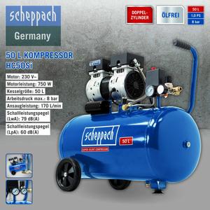 Scheppach Kompressor HC50Si 50L