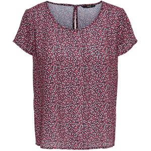 Damen Shirtbluse im Herzchenprint