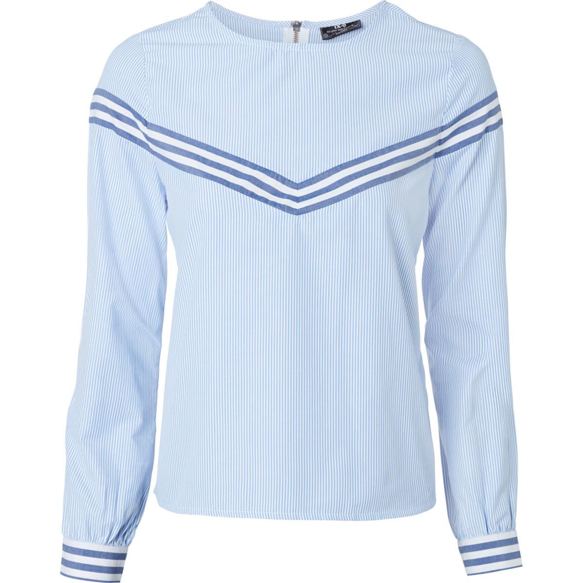 Bild 1 von Damen Bluse mit Streifendesigns