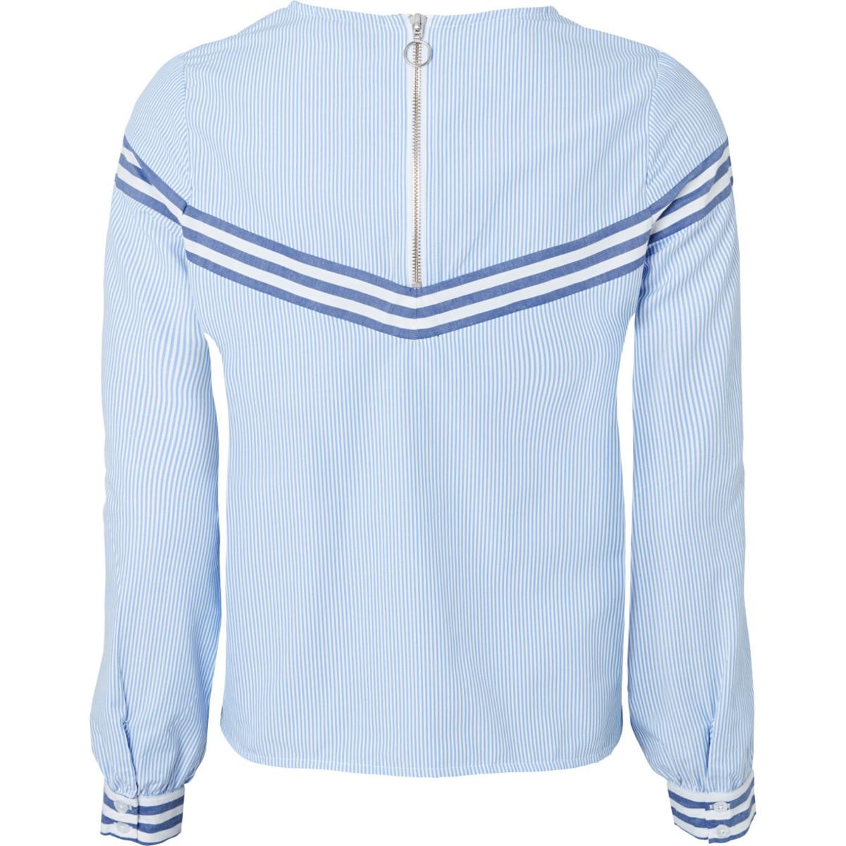 Bild 2 von Damen Bluse mit Streifendesigns
